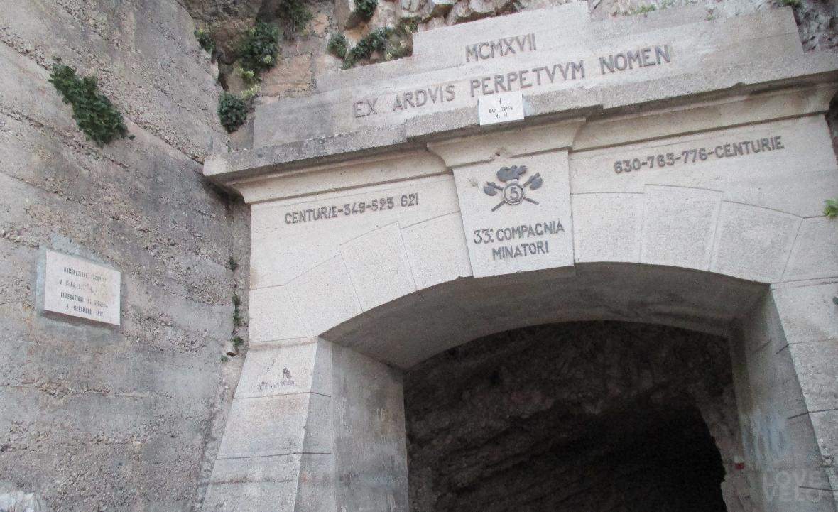 strada delle gallerie